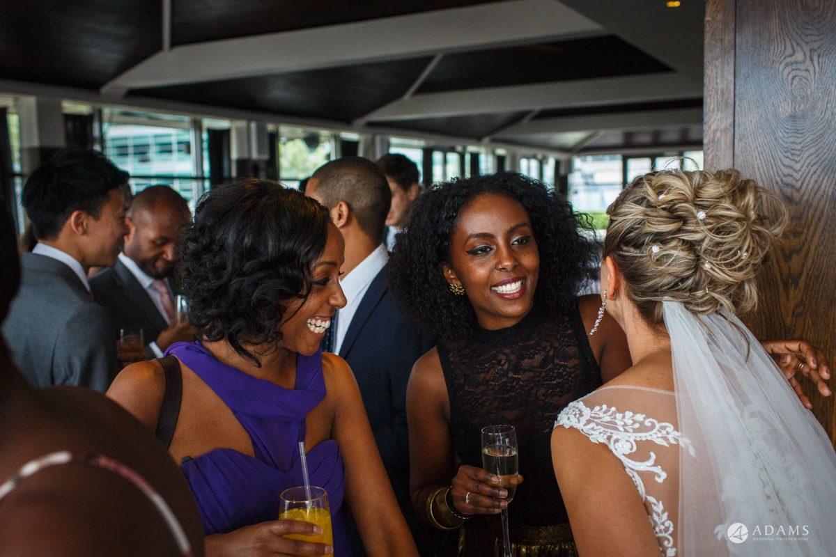 Eight Members Club Moorgate London Wedding Photography | Marina + Abiy 68