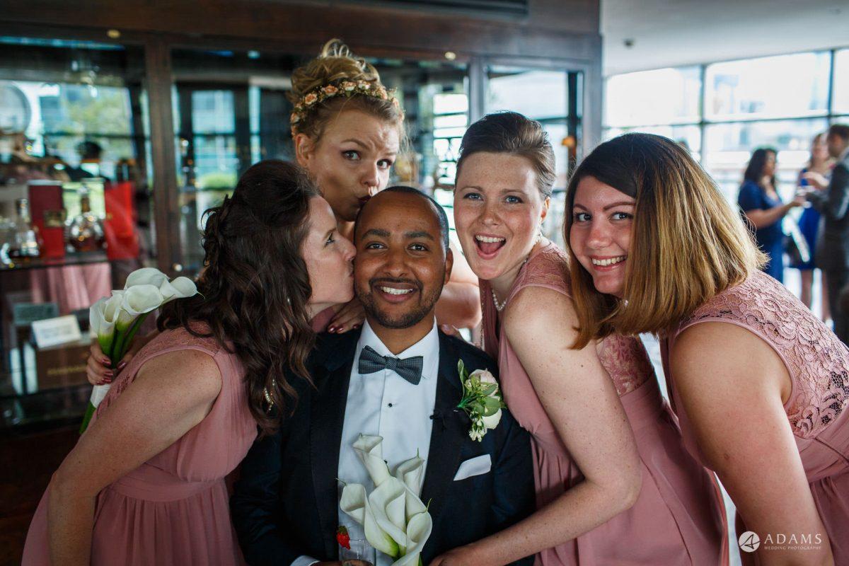 Eight Members Club Moorgate London Wedding Photography | Marina + Abiy 74