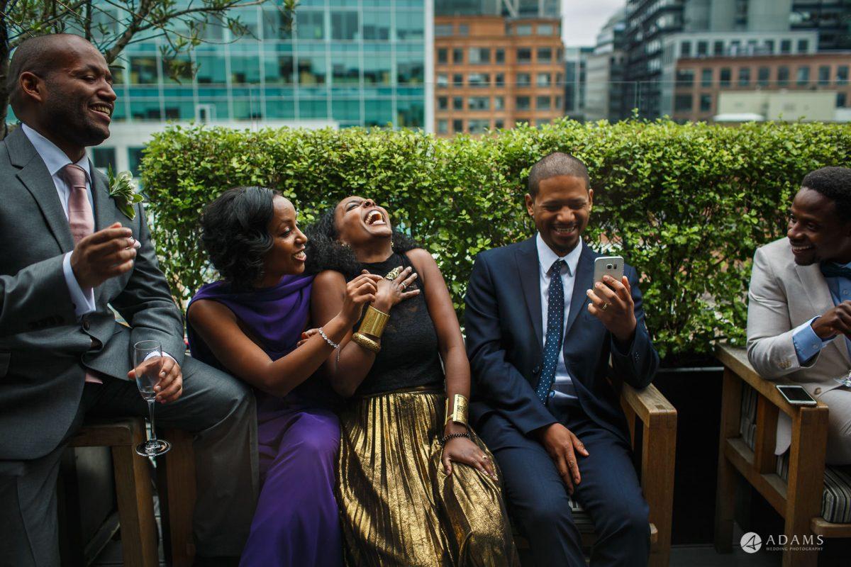 Eight Members Club Moorgate London Wedding Photography | Marina + Abiy 77