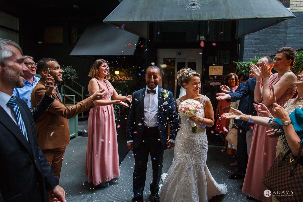 Eight Members Club Moorgate London Wedding Photography | Marina + Abiy 82