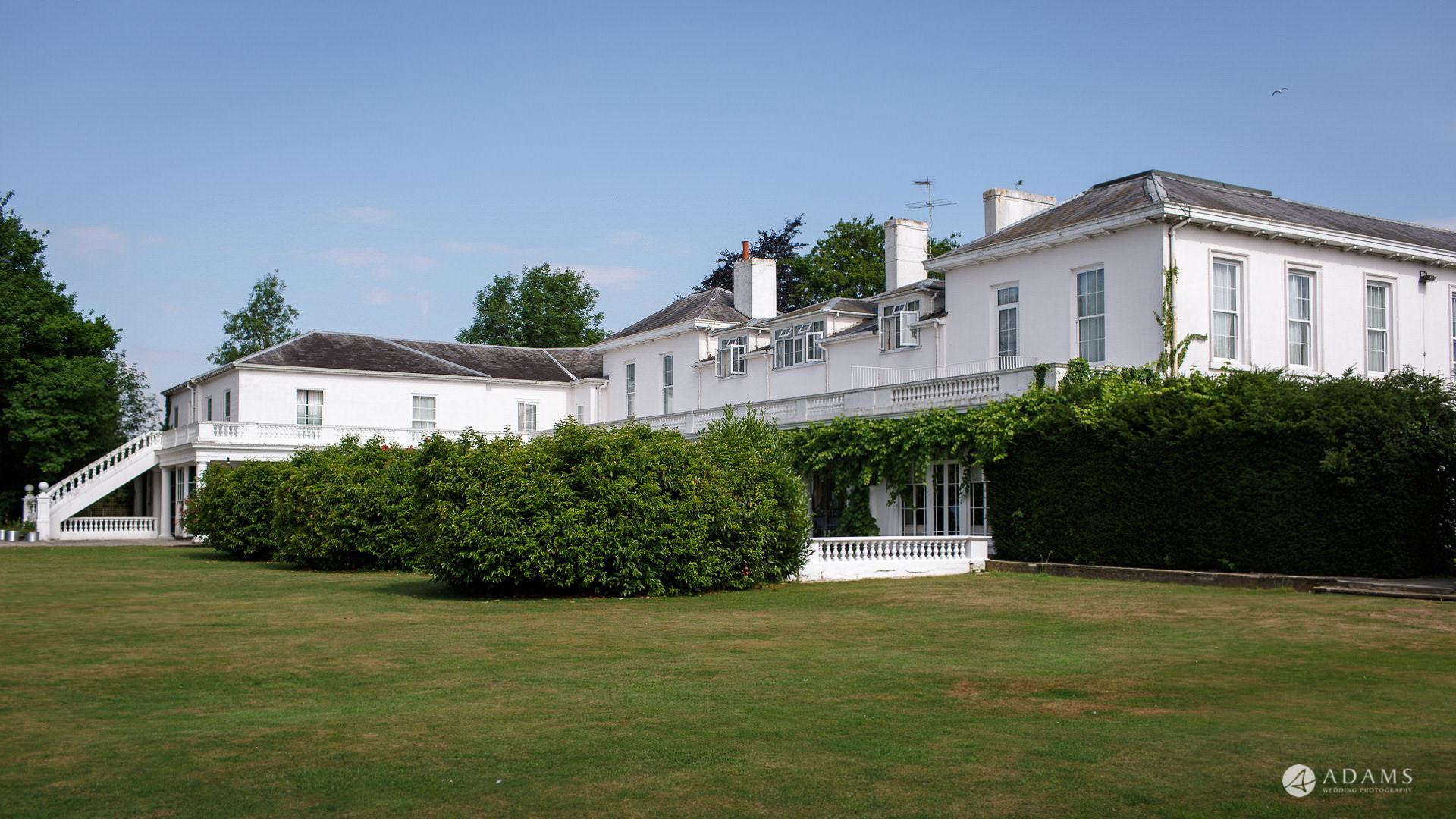 Manor of Groves Hotel Wedding venue