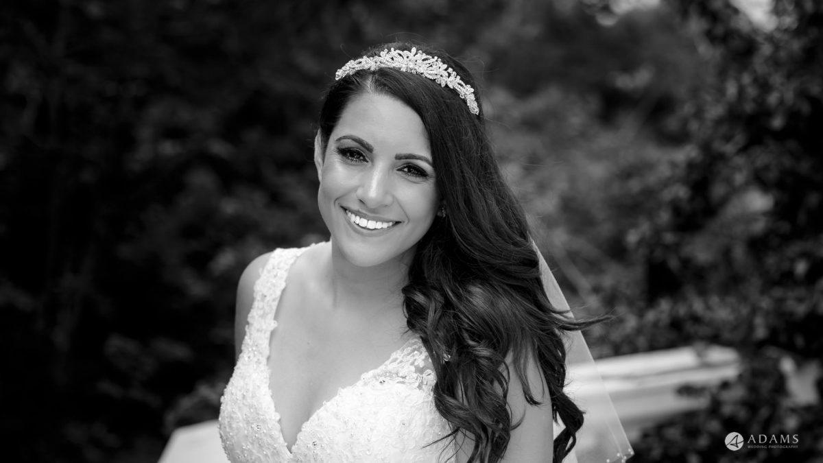 Manor of Groves Wedding bridal portrait