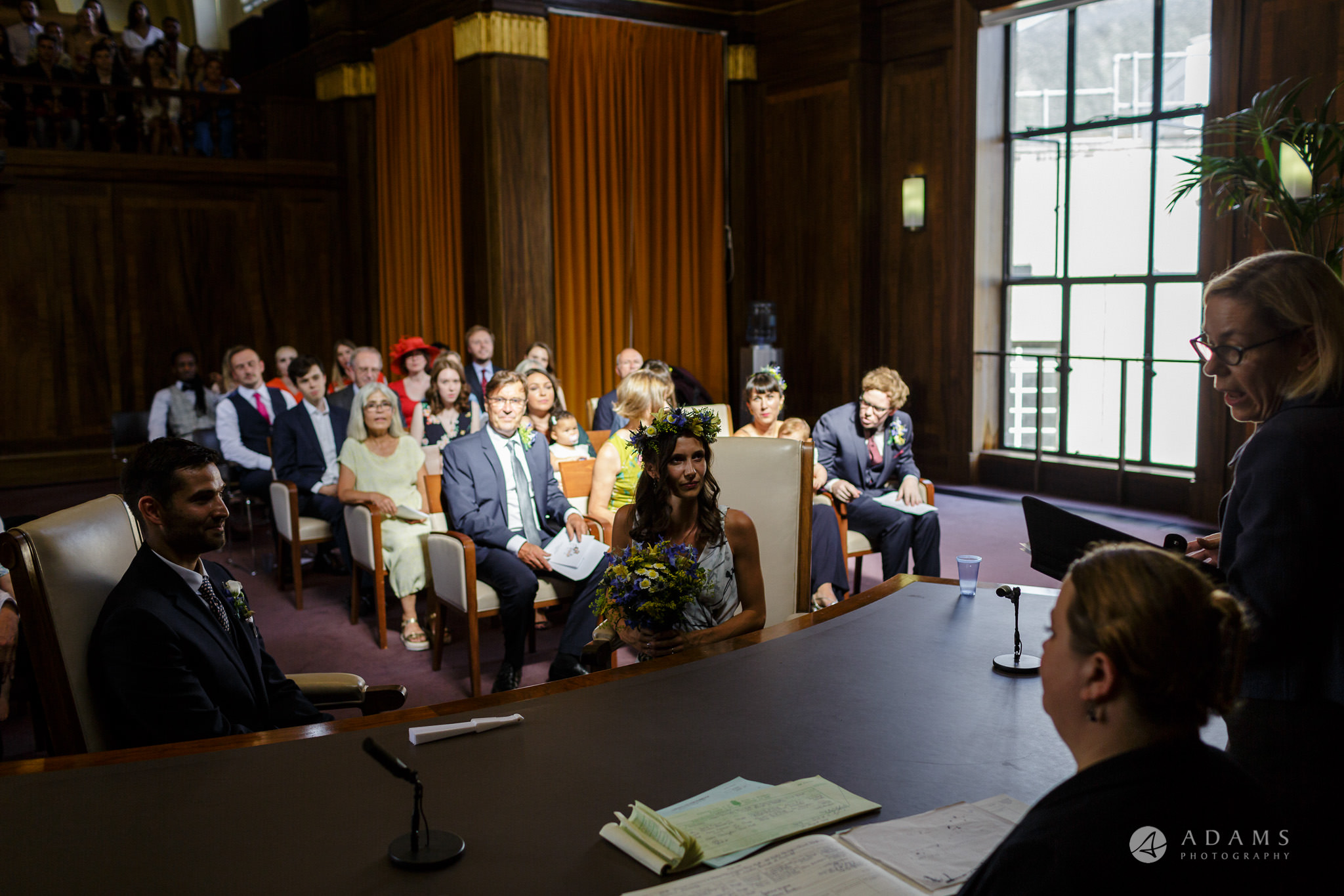 Clissold house wedding ceremony