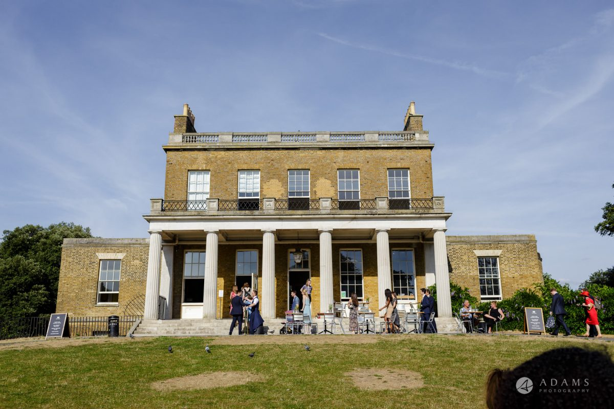 Clissold house wedding house