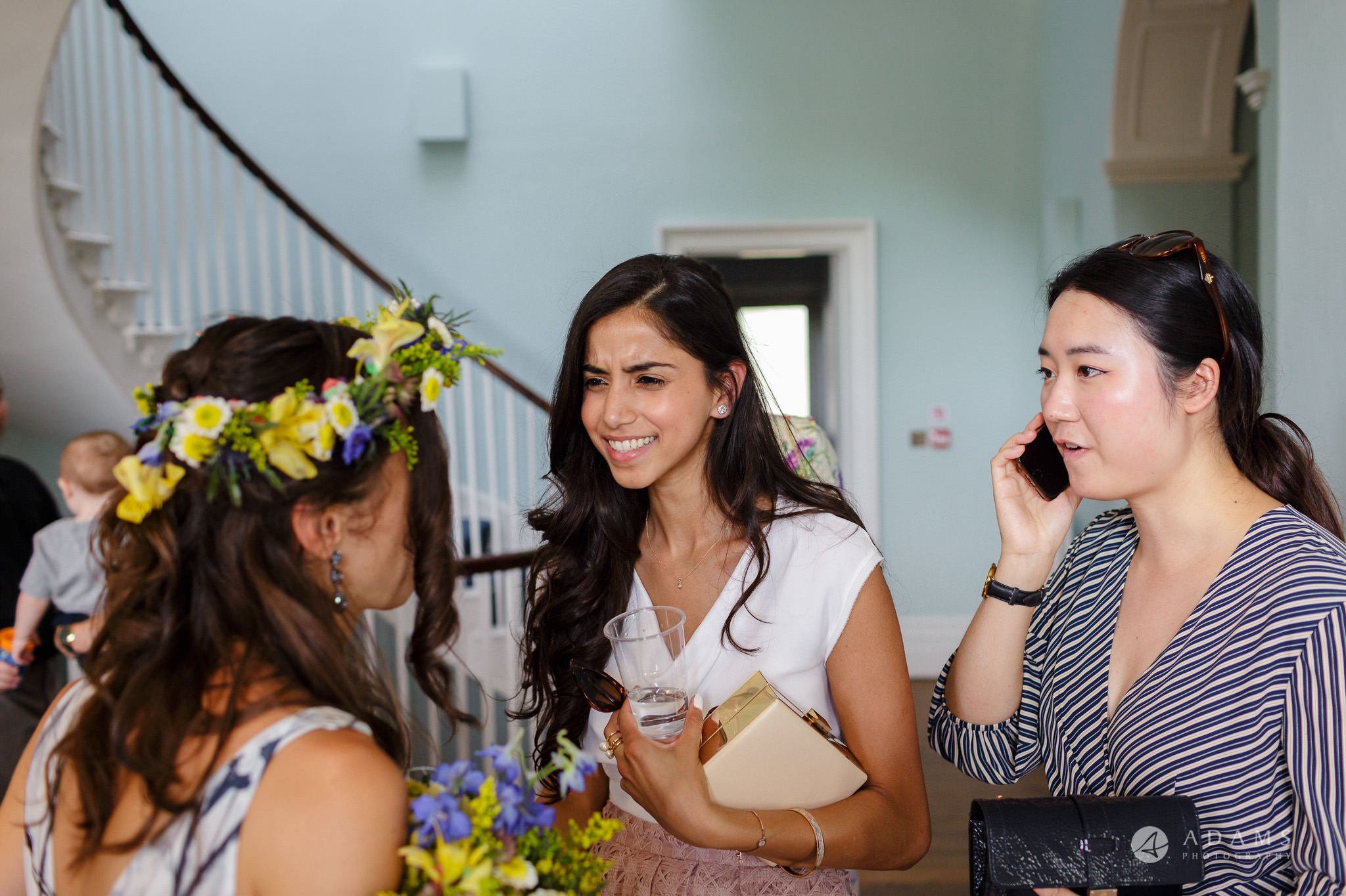 Clissold house wedding guests wishing the best