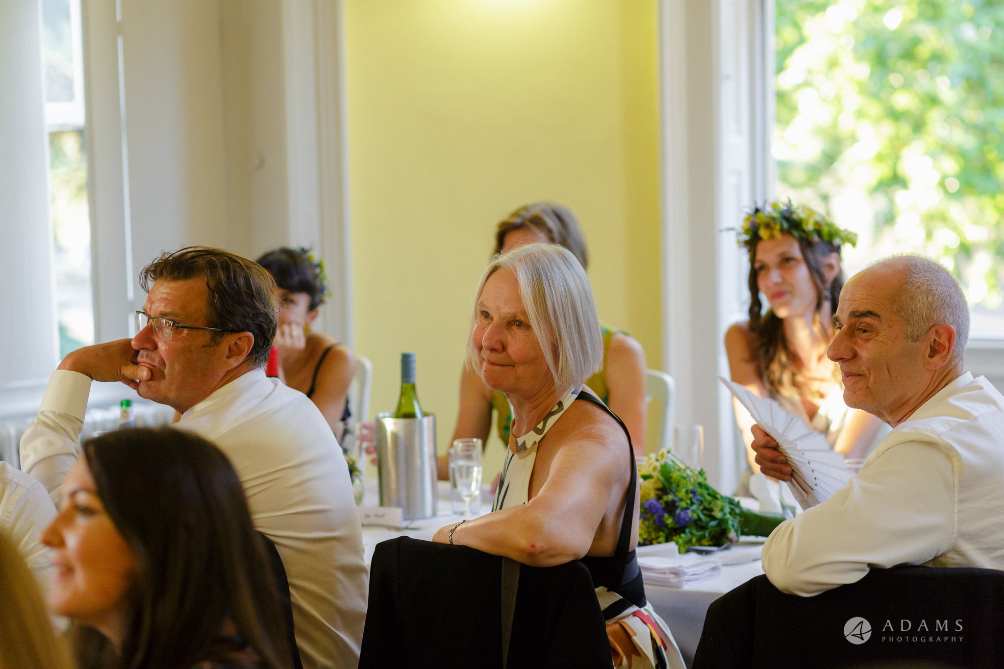 Clissold house wedding family reaction