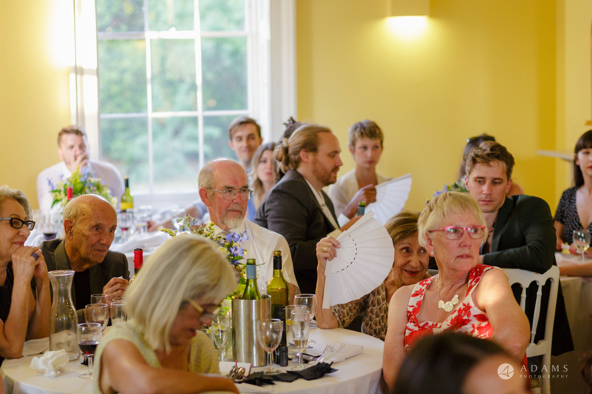 Clissold house wedding extended family