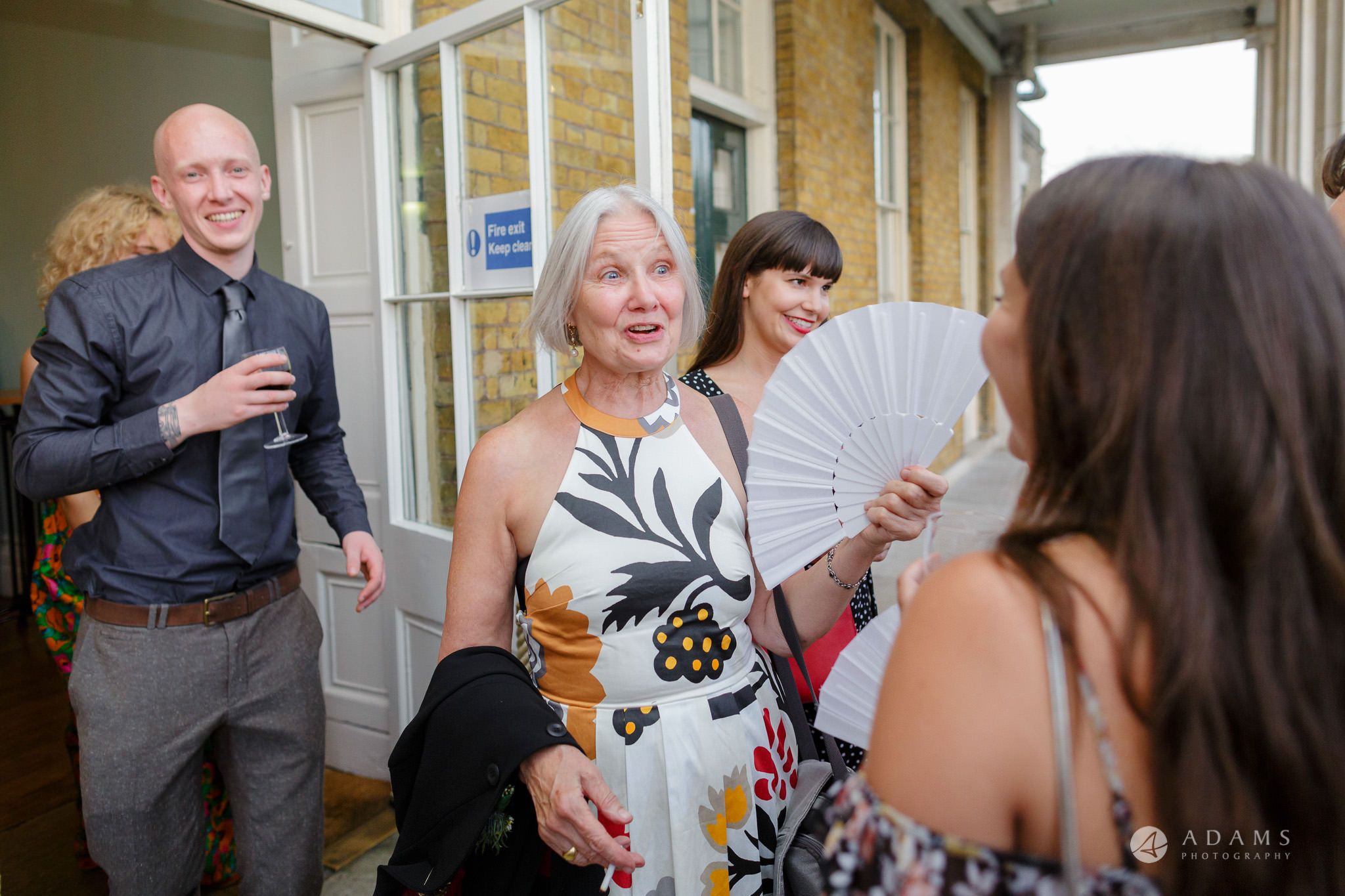 Clissold house wedding mothers reaction