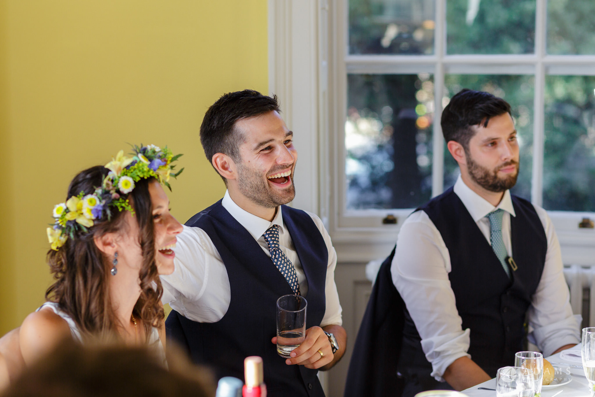 Clissold house wedding top table