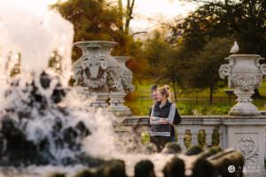 Hyde Park Real Engagement Photos | Mia + Brian 45