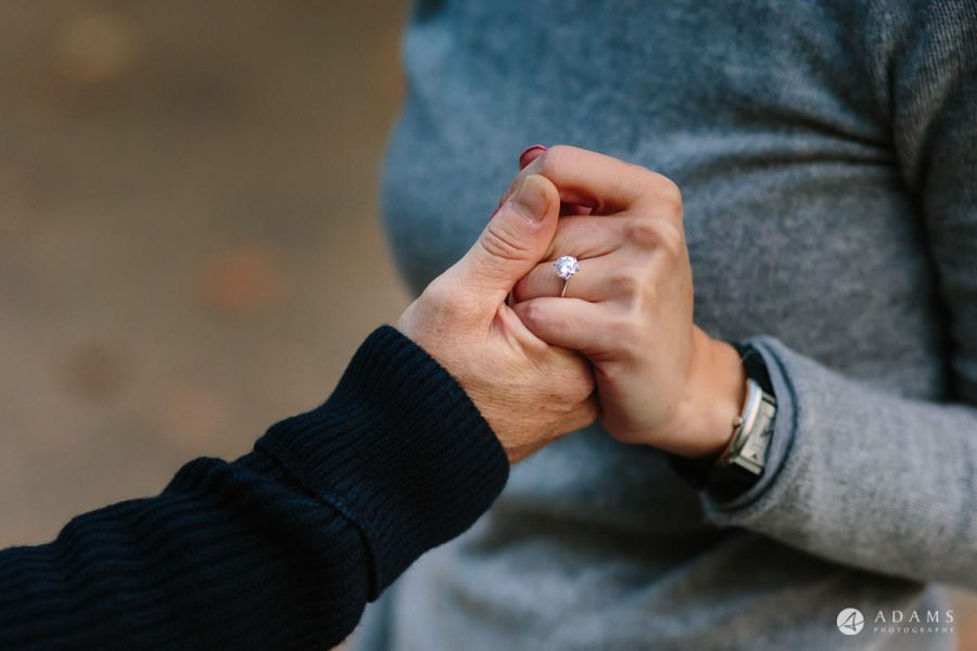 Hyde Park Real Engagement Photos | Mia + Brian 75