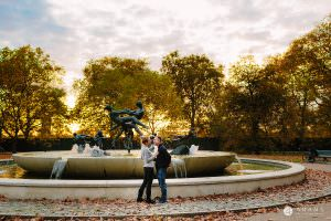Hyde Park Real Engagement Photos | Mia + Brian 50