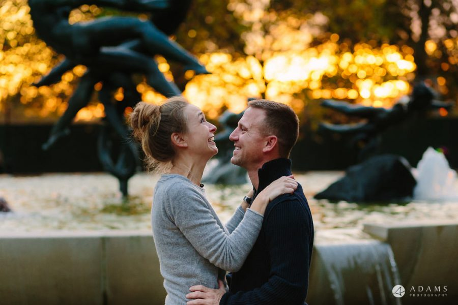 Hyde Park Real Engagement Photos | Mia + Brian 56