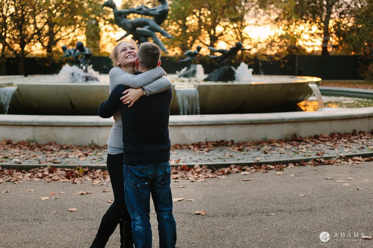 Hyde Park Real Engagement Photos | Mia + Brian 55