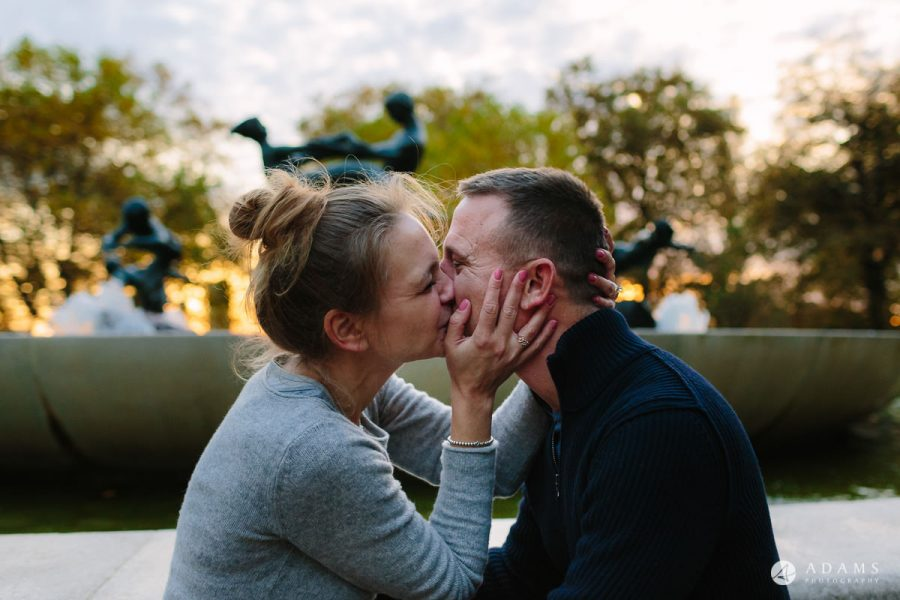 Hyde Park Real Engagement Photos | Mia + Brian 58