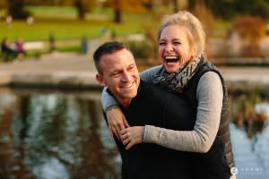 Hyde Park Real Engagement Photos | Mia + Brian 60