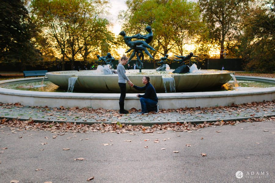 Hyde Park Real Engagement Photos | Mia + Brian 63