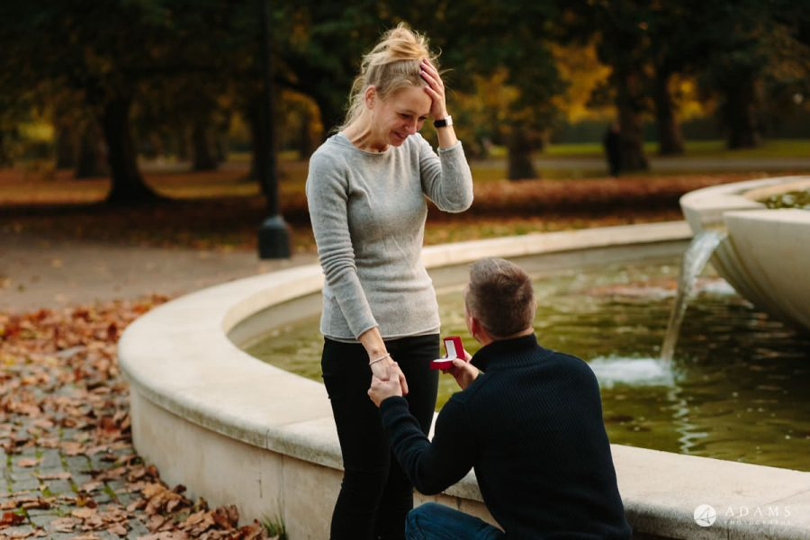 Hyde Park Real Engagement Photos | Mia + Brian 65