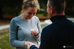 Hyde Park Real Engagement Photos | Mia + Brian 67