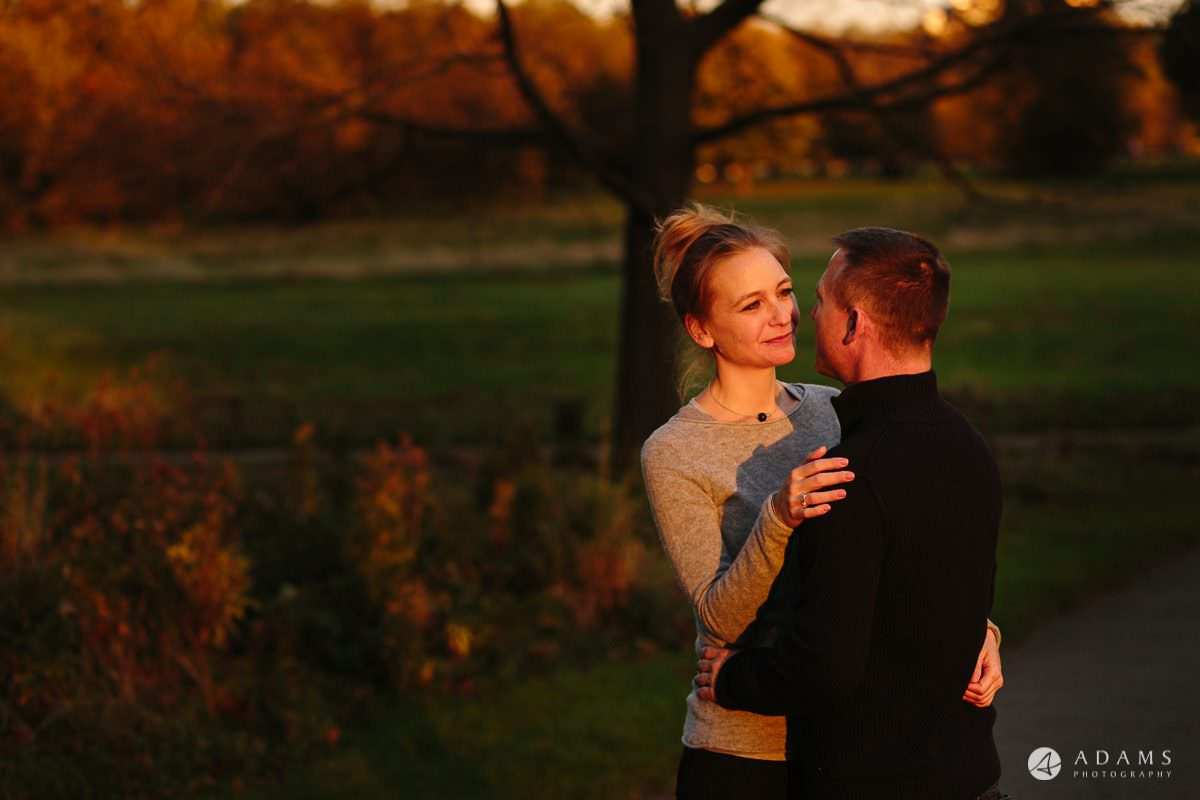 Hyde Park Real Engagement Photos | Mia + Brian 69