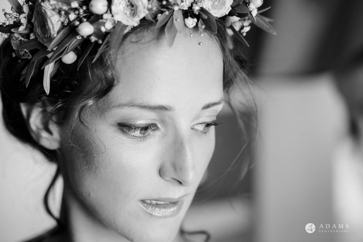 Destination Spain Wedding photos bridal portrait