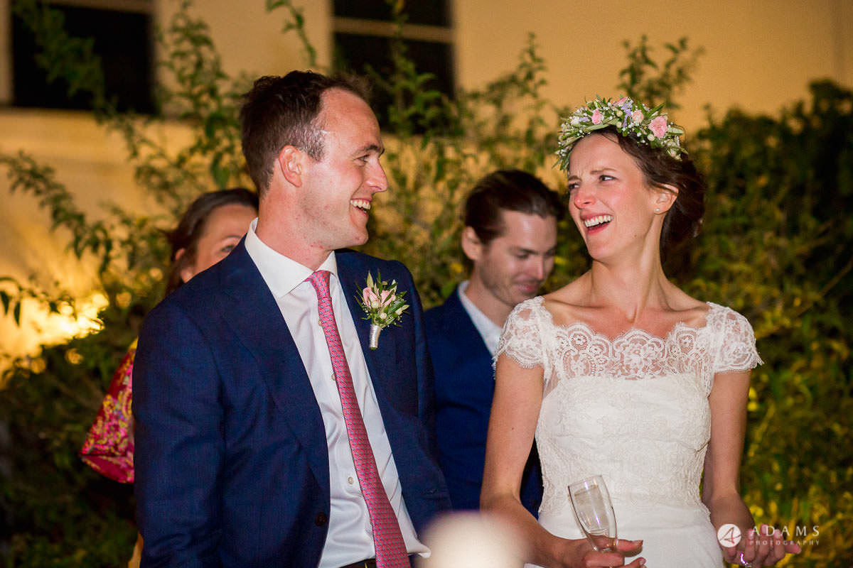Spain Wedding Photographer bride and groom laughing