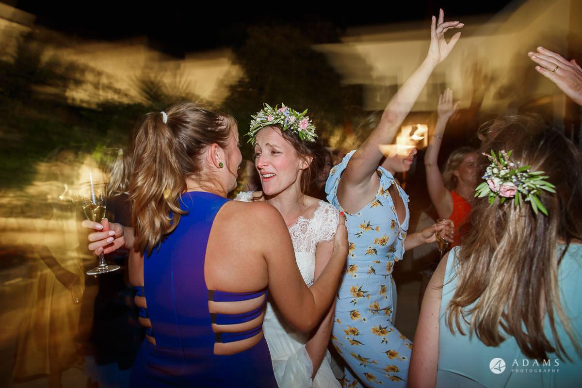 Spain Wedding Photographer dancing