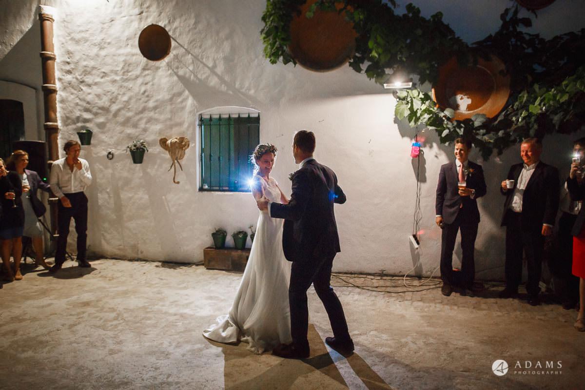 Destination Spain Wedding Photographer first dance