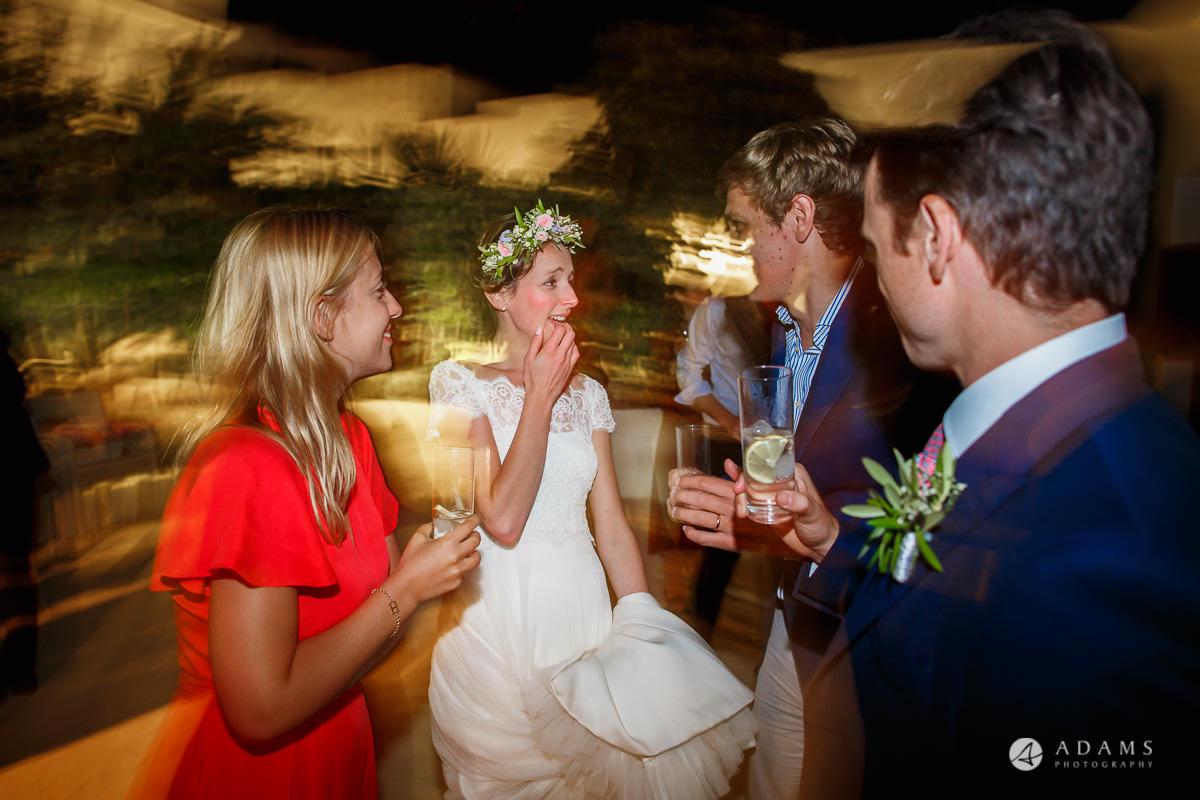Destination Wedding Photographer everybody dances