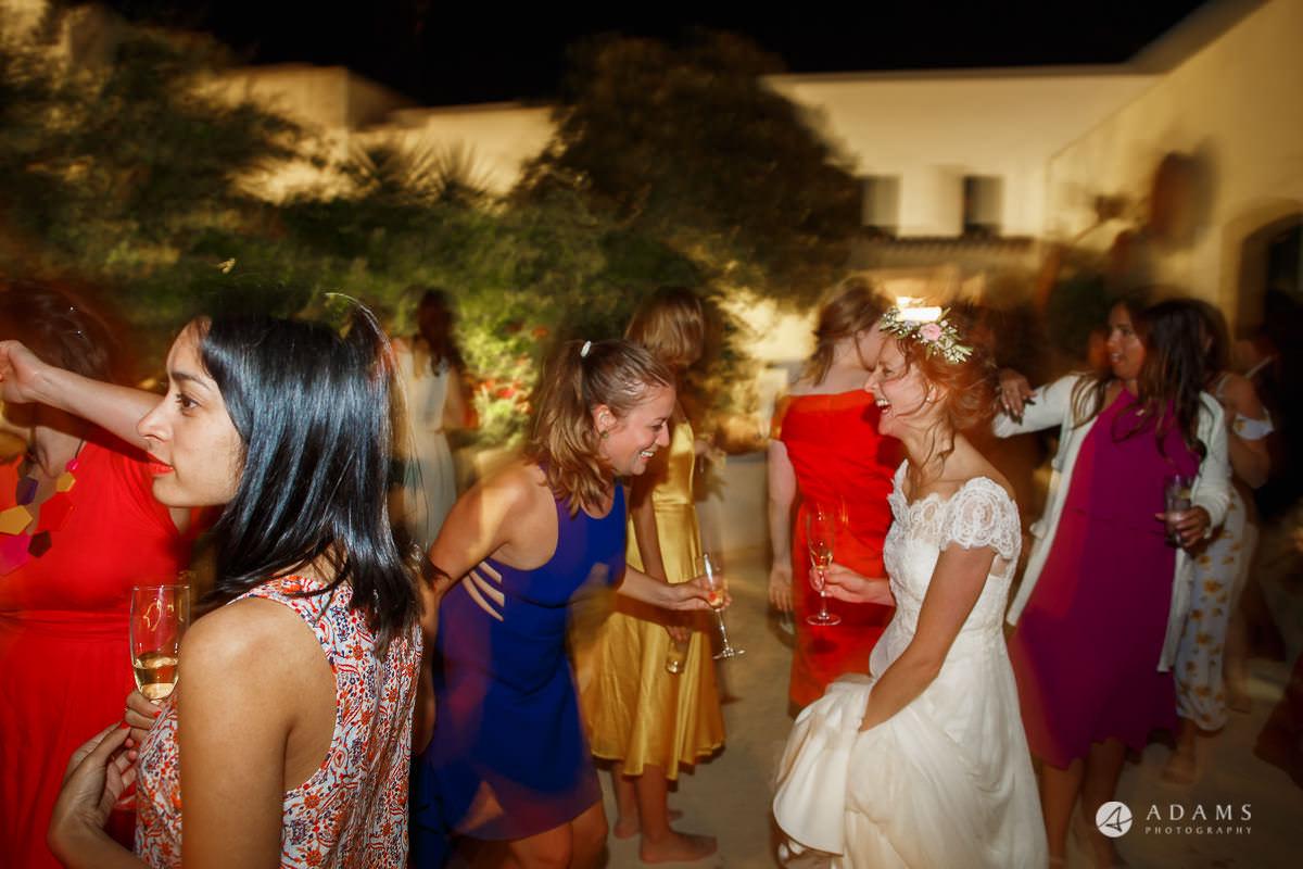 Spain Wedding Photographer party