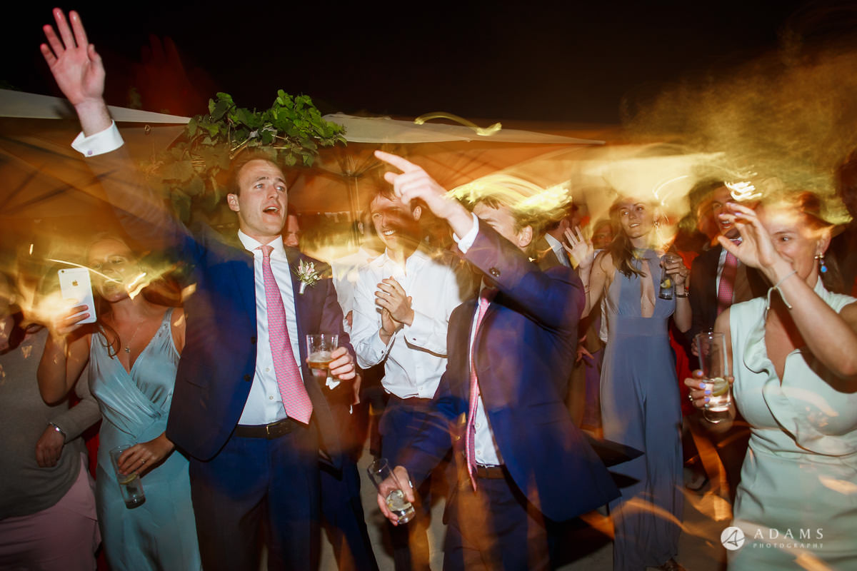 Destination Wedding Photographer big party