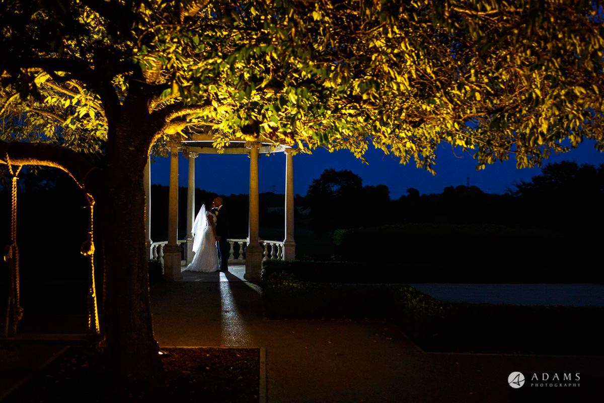 Froyle Park wedding evening photo shoot