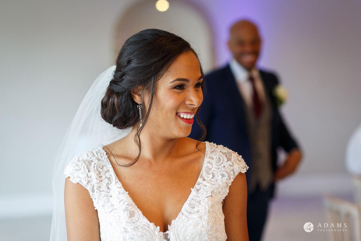 Froyle Park wedding photo of the bride