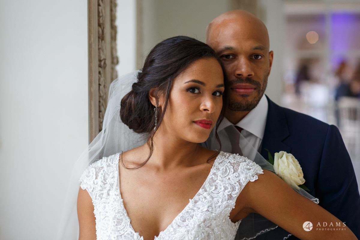 Froyle Park wedding couple portrait