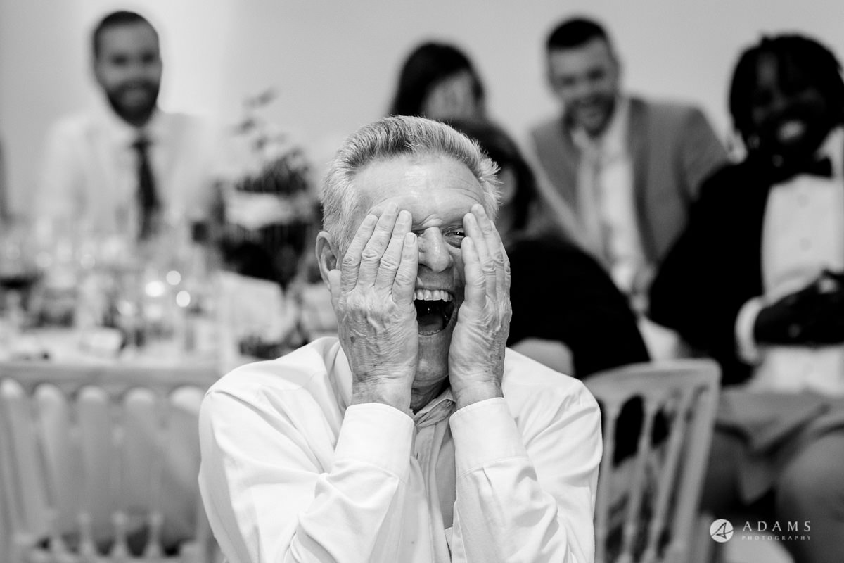 Froyle Park wedding guest reaction to the speech