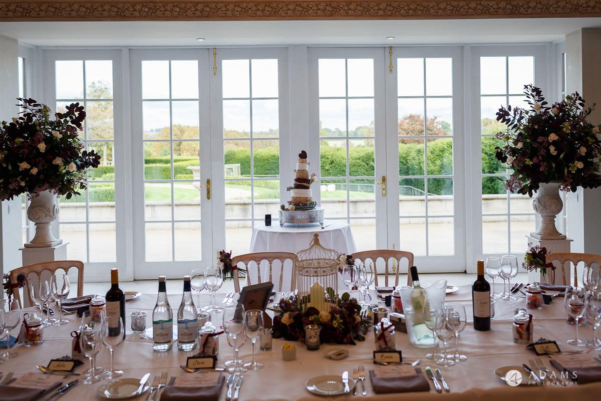 Froyle Park wedding photo of the wedding cake