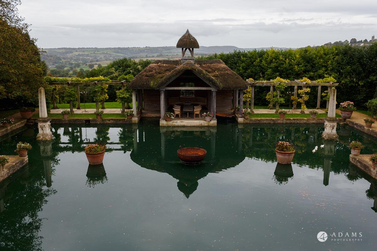the lost orangery wedding photography venue pagoda