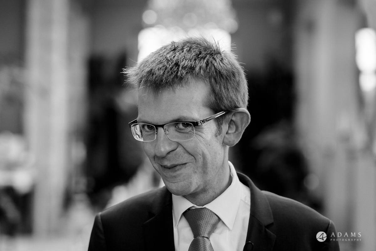 the lost orangery wedding photography groom portrait