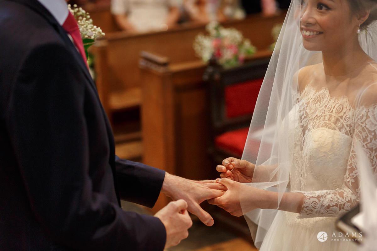 the lost orangery wedding ring exchange