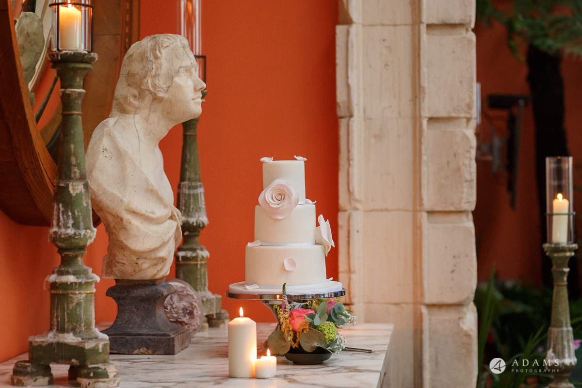 the lost orangery wedding cake
