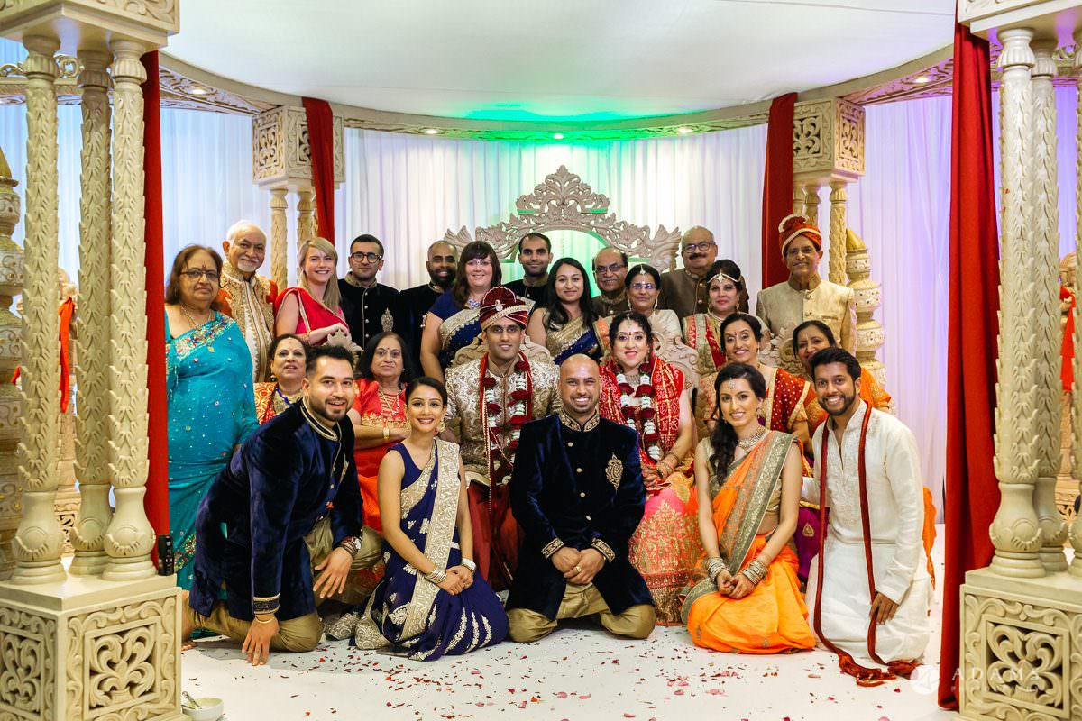 Hindu Wedding Premier Banqueting London Photos | Devina & Aakash 31