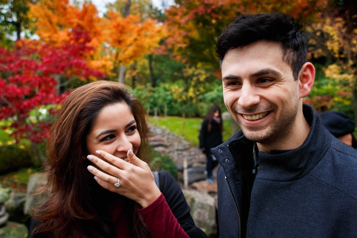 Engagement Photography Hollad Park London She Said Yes