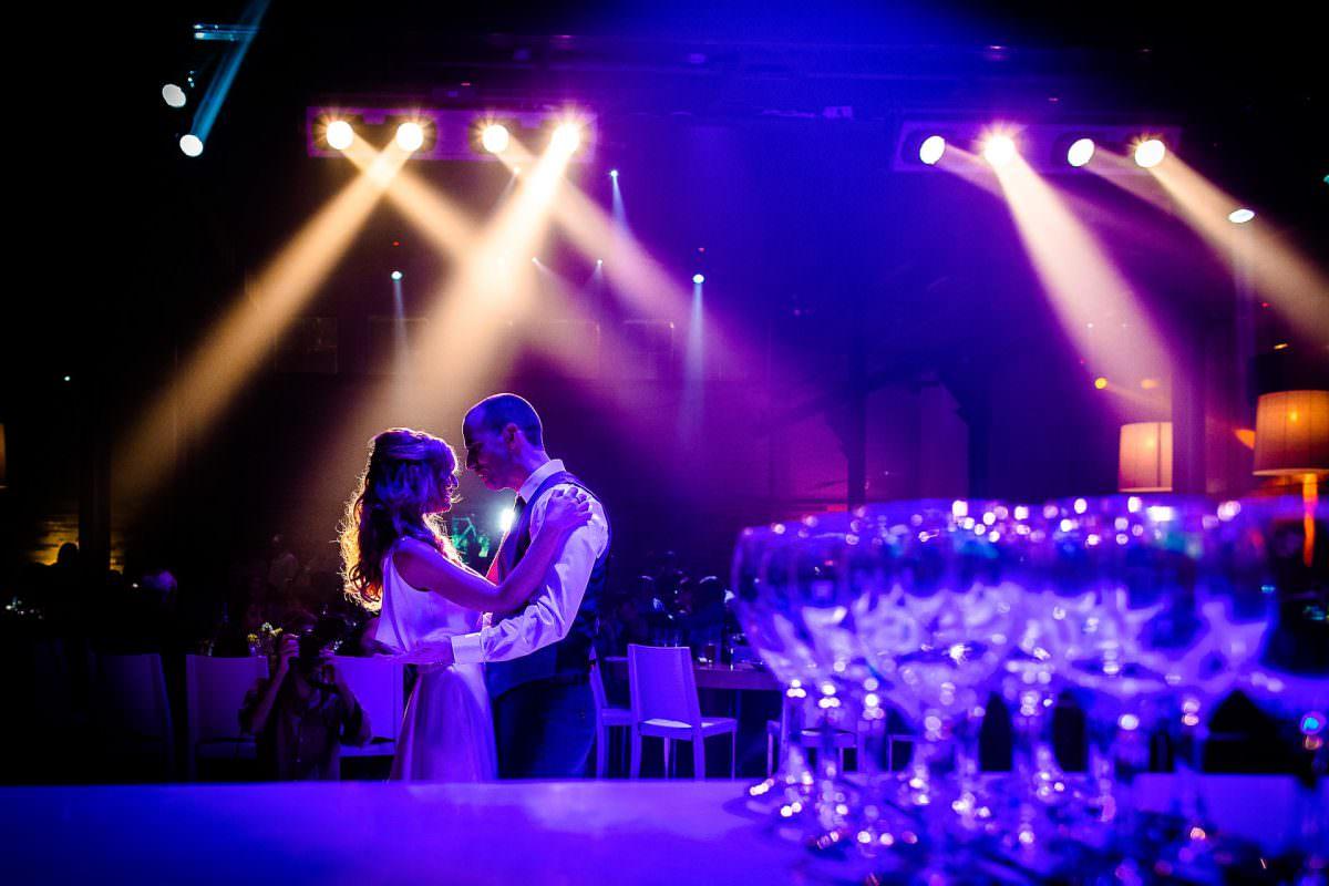 Jewish Married Couple First Dance Wedding Photo