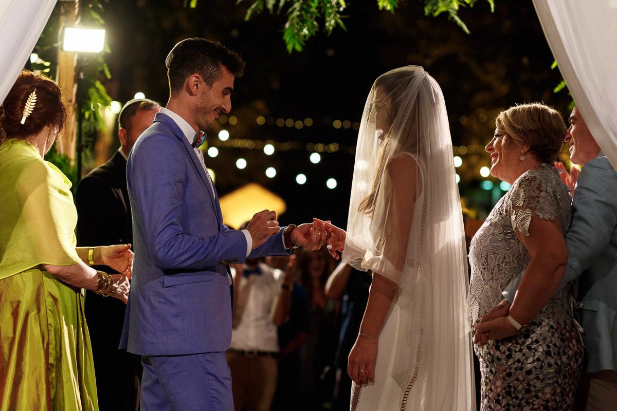 Jewish Wedding Photographer Ceremony Ring