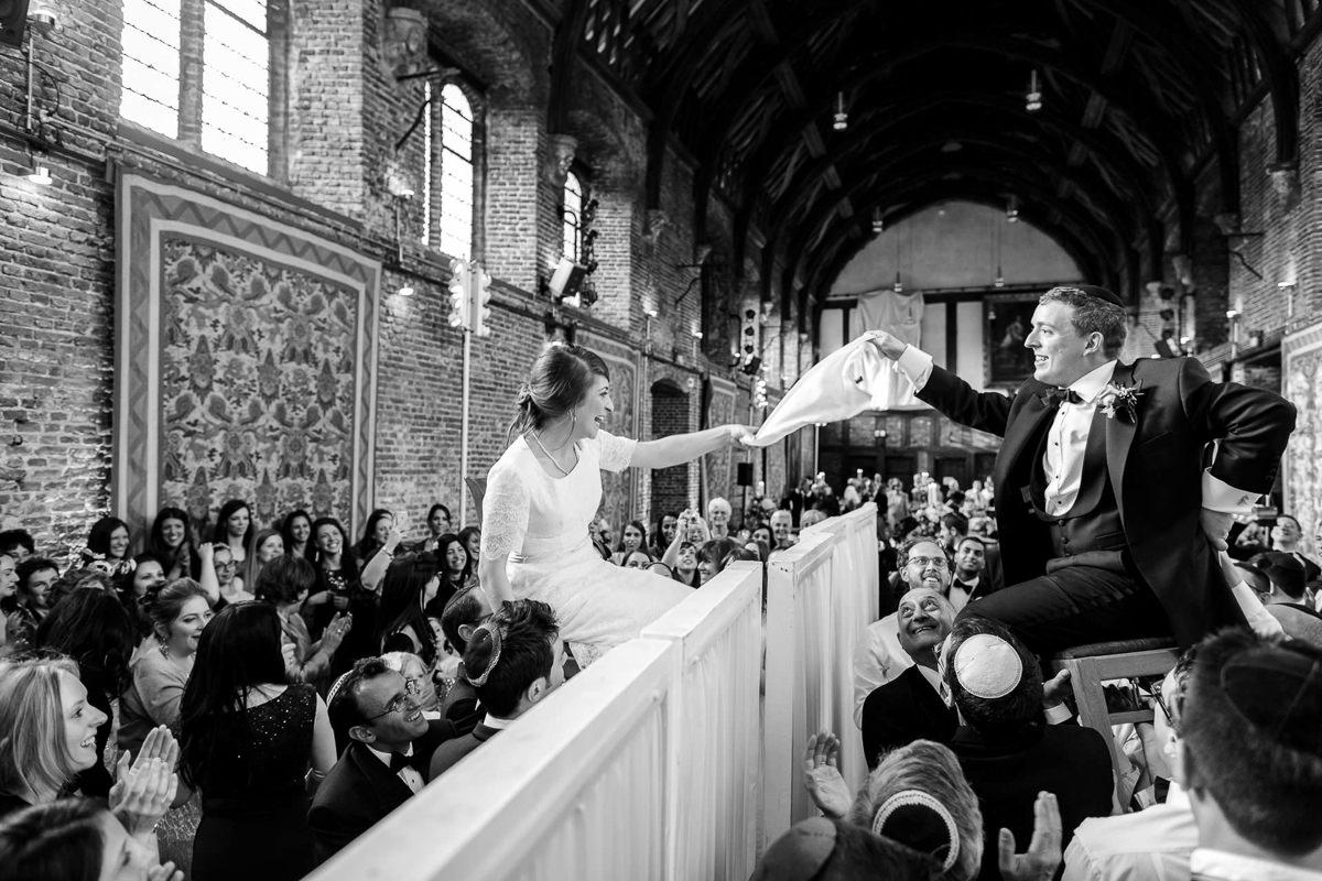 jewish wedding photography hora