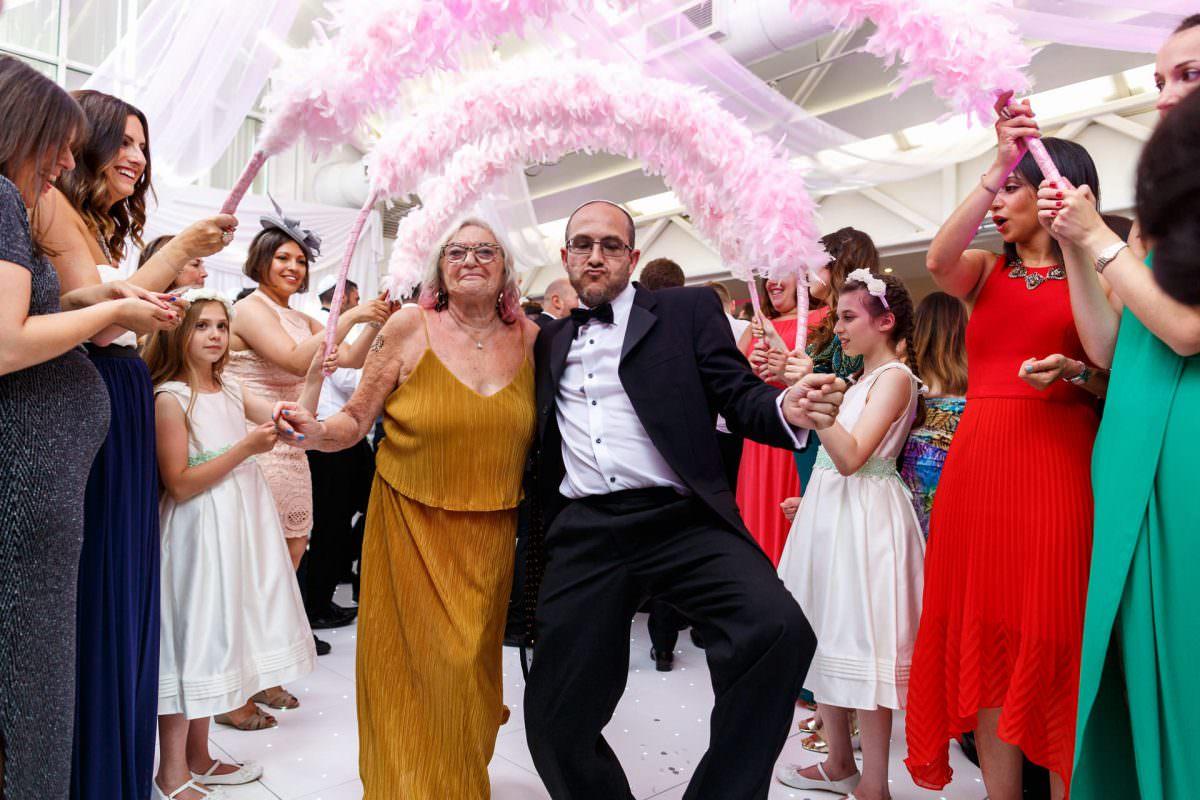 Jewish Wedding Party Horah Dance