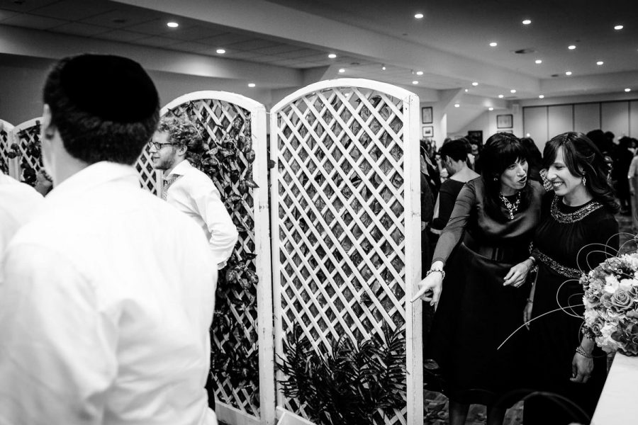 Jewish Wedding Photographer Orthodox separate dancing