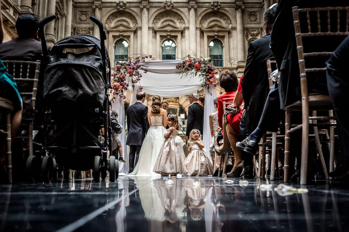jewish wedding photographer chuppah