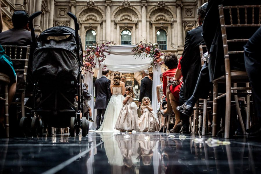 jewish wedding photographer chuppah