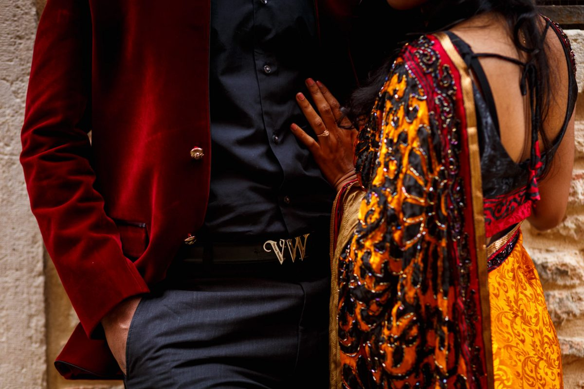London Engagement Photo Couple